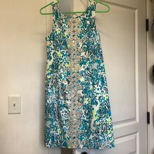 Size 4 Lilly Pulitzer Ember Shift Dress. NWT